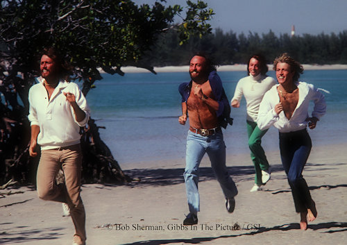 Bee Gees website Gibb Service International, Brothers Gibb